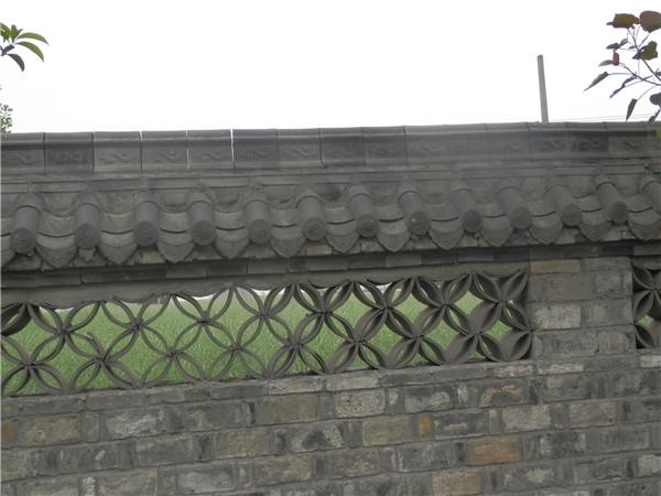 仿古文化围墙效果图